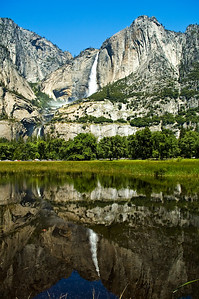 Upper Yosemite Falls Reflection