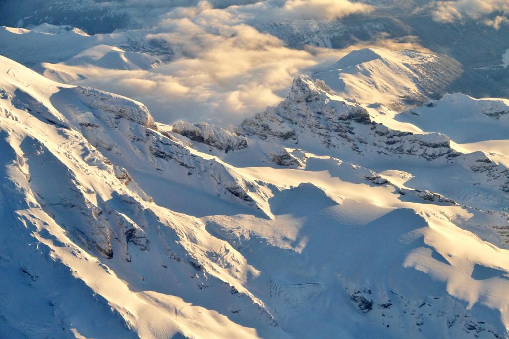 Mt Rainier aerial