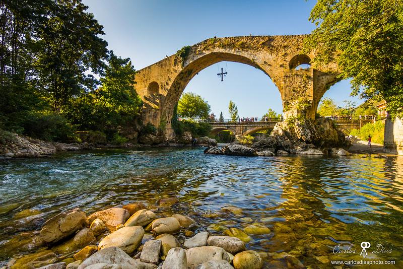 """""""Puente Romano"""" in Cangas de Onís"""