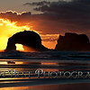 Twin Rocks Sunset #0770