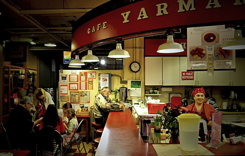 Alone in Seattle<br /> <br /> Cafe Yarmarka - Pike Place Market