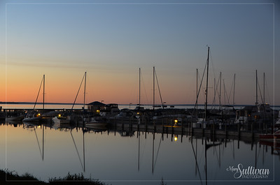 Marina at St. Ignace, Michigan