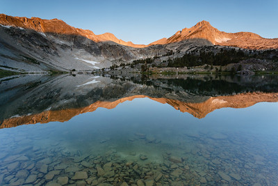 Sunrise at Greenstone Lake