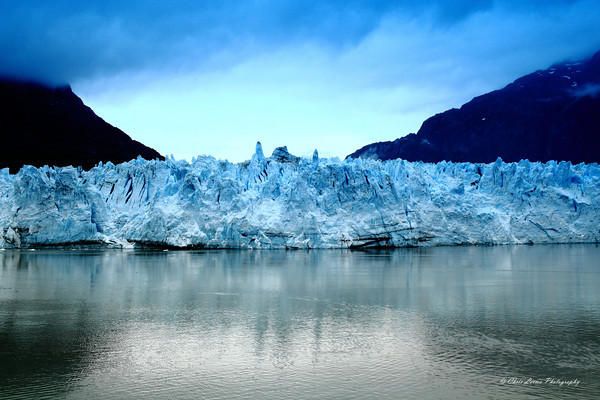 Margerie Glacier at Glacier Bay National Park, AK.