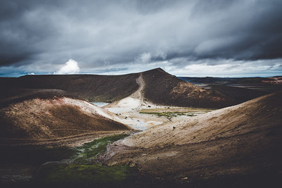 Geothermal area, Iceland