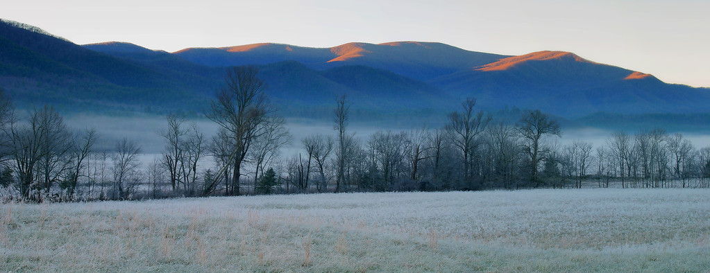 Morning Frost Cades Cove, Tennessee