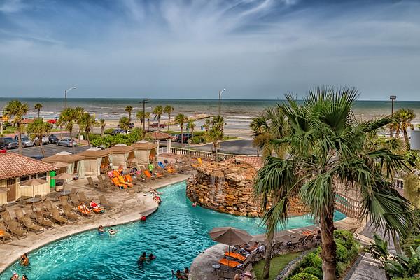 View from The Hilton - Galveston, Texas