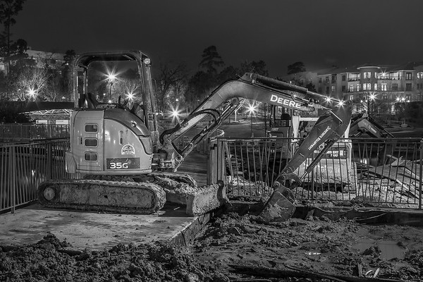 Construction Site - The Woodlands Waterway