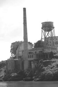 Just an old prison.  Alcatraz, San Francisco, California