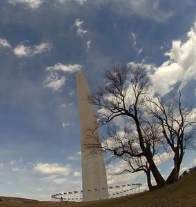 Monument to the world.  Washington DC