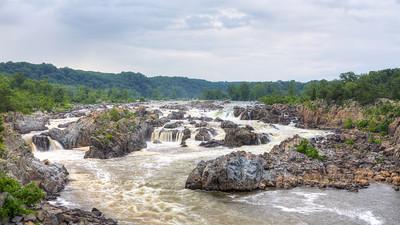 Great Falls Landscape || Great Falls Park, VA