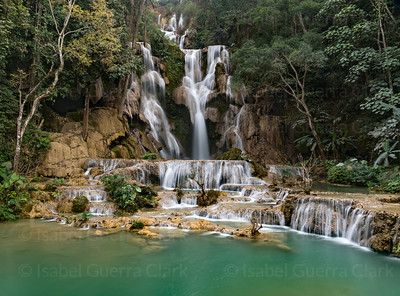 Khouangsi Waterfalls, Laos