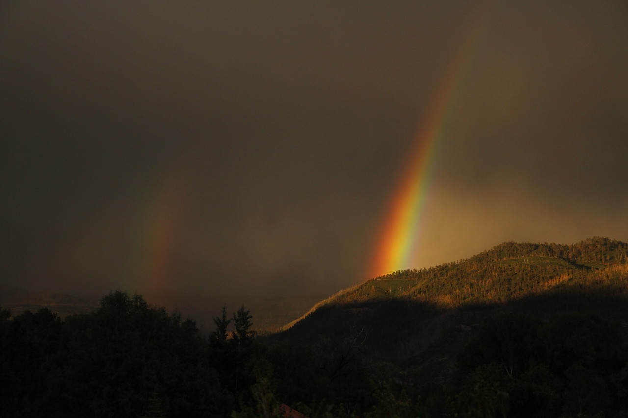 Double Rainbow - Hermosa, CO