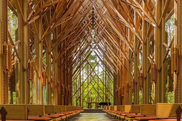 The Anthony Chapel - Garvan Woodland Gardens Hot Springs, Arkansas