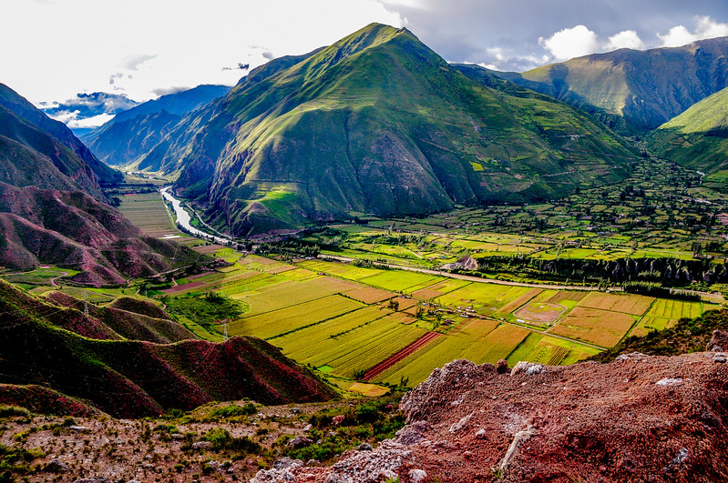 Moray Mountains, Peru