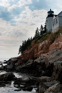 Bass Harbor Lighthouse, classic view, Acadia NP