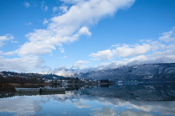 Reflection at Aiguebelette