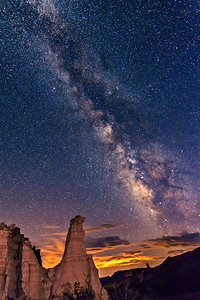 Plaza Blanca Milky Way