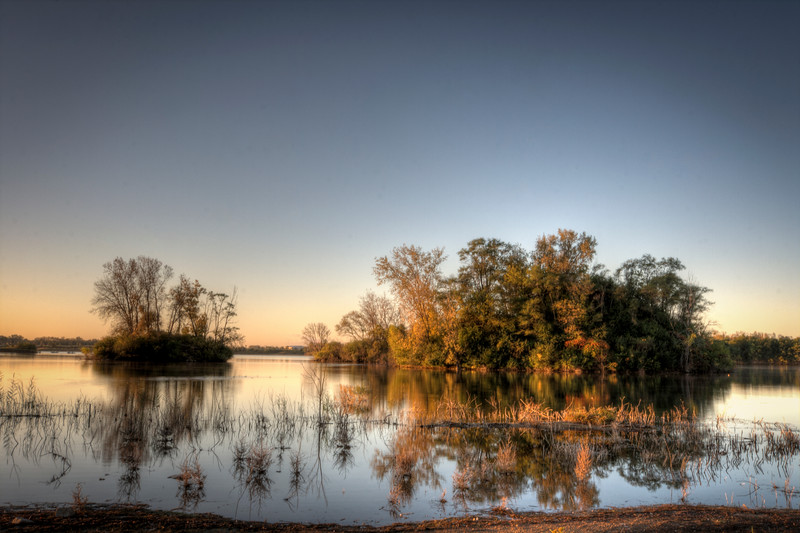 Three Oaks Recreation Area in Crystal Lake,Illinois