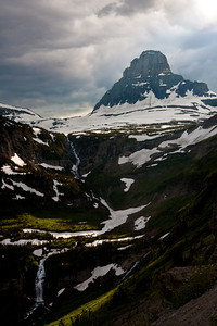 Mount Oberlin near Logan Pass, Glacier NP