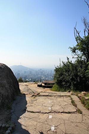 Inwangsan Mountaintop