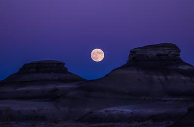 Hunters Moon, Bisti Badlands