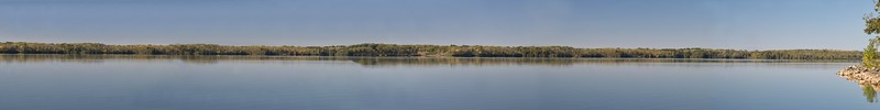 Buck Creek State Park Lake Panorama