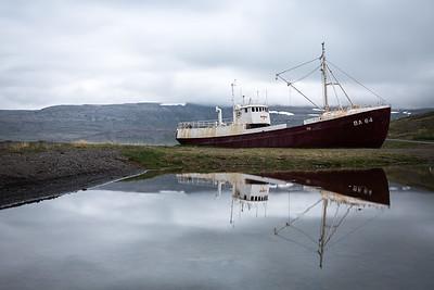 BA 64 Shipwreck, Patreksfjörður, Westfjords, Iceland