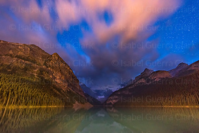 Lake Louise twilight