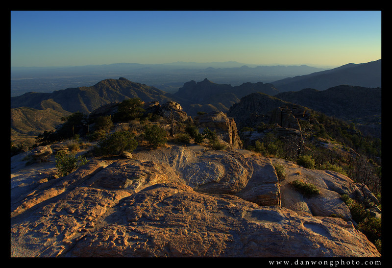 Windy Point Lookout, Mt. Lemmon. Tucson, Arizona.