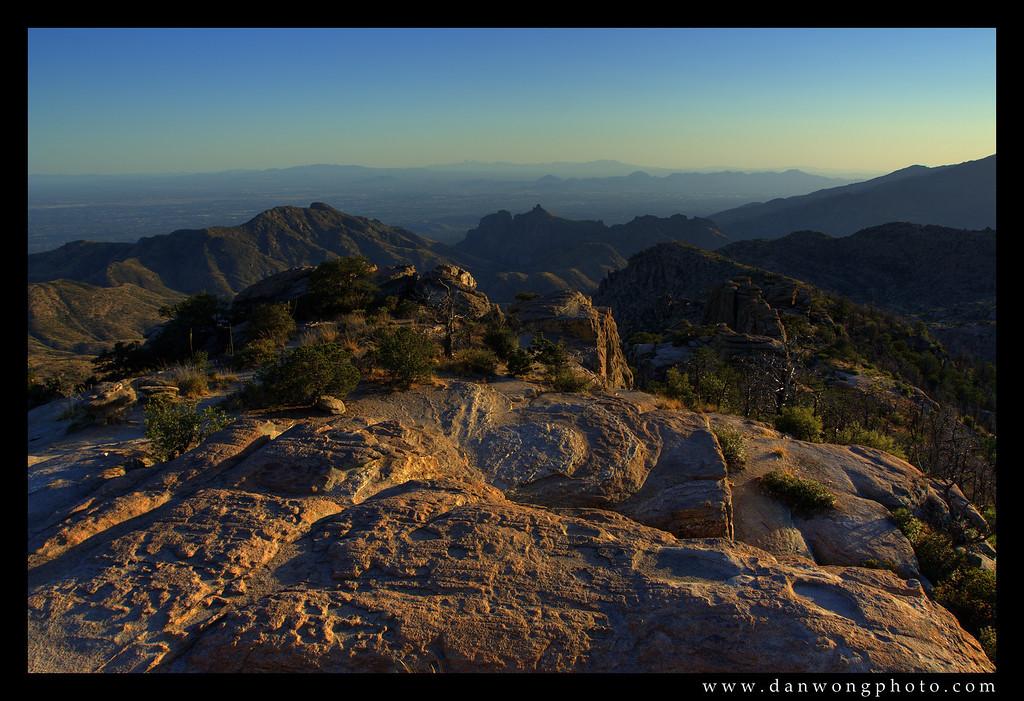Windy Point Lookout, Mt. Lemmon. Tucson, Arizona.