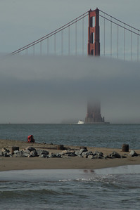 The Golden Gate from Chrissy Field