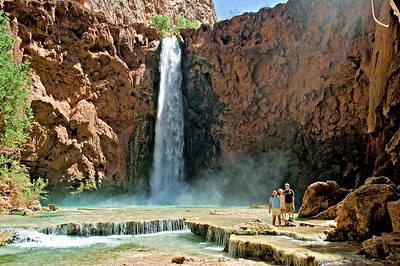 Havasu Canyon - Mooney Falls