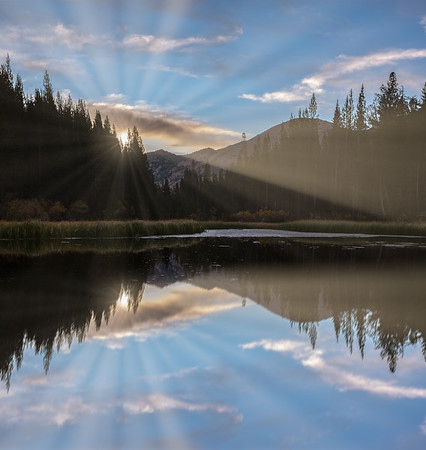 Mountain Lake Sunrise