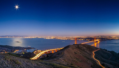 San Francisco Moonrise