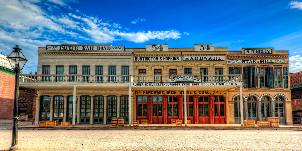Old Sacramento Historic Buildings