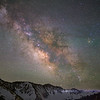 Made from 13 light frames by Starry Landscape Stacker 1.8.0.  Algorithm: Min Horizon Noise