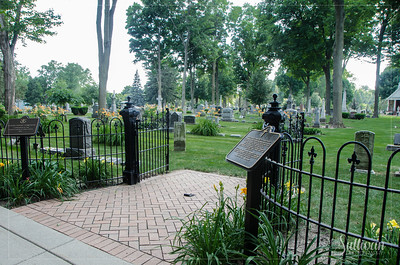 cemetery at University of Notre Dame, South Bend, Indiana