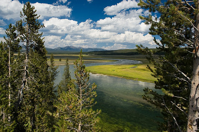 Hayden Valley and the Yellowstone River