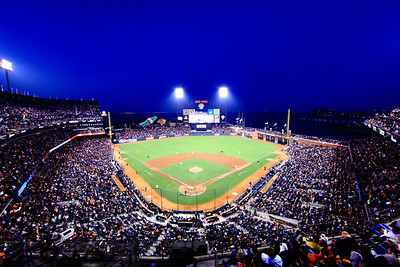 San Francisco Giants vs San Diego Padres at AT&T park.
