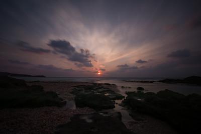 Palmachim sunset