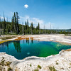 """The Soul Of Yellowstone""<br /> <br /> Passion comes from the soul, from passion comes amazing beauty. This geyser spring in Yellowstone National Park boldly displays the passion of nature for color and brilliance and perfection!"