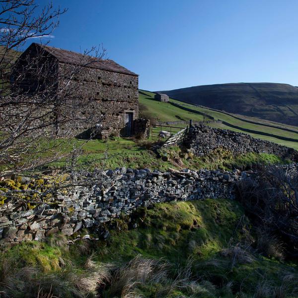 Barns near Thwaite