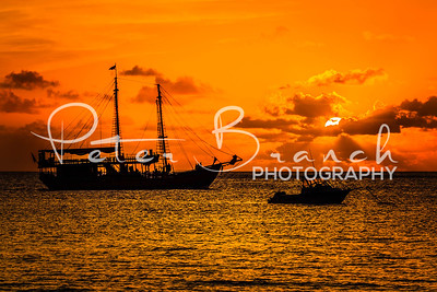 Pirate Sunset - Barbados - 7395