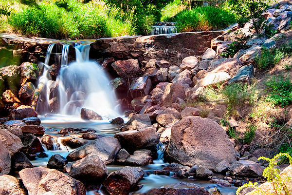 Manitou Springs,  Colorado Waterfall