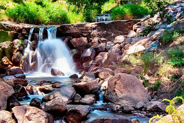 Manitou Springs,  Colorado Waterfall