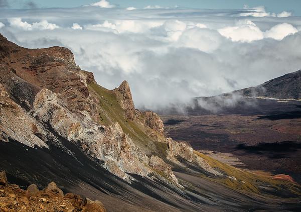 Haleakala Volcano Sliding Sands Trail, Maui