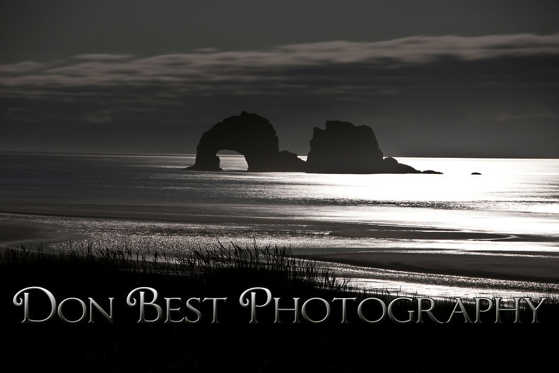 Twin Rocks by Moonlight #9020