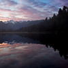 Sunrise Reflection, Lake Matheson.