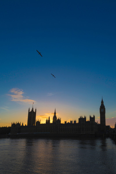 Houses of Parliament Sunset